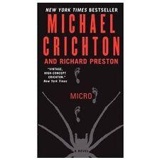 Micro - Michael Crichton (Paperback) Richard Preston (A Novel)