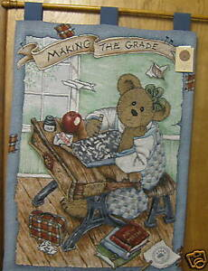 """Manual Woodworkers WALL HANGING Boyds #31676 MAKIN' THE GRADE, 36"""" x 26"""""""