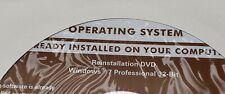 Dell Microsoft Windows 7 Professional 32 Bit Reinstallation DVD PPK5P