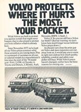 1978 1979 Volvo 142 and 265 Wagon Original Advertisement Print Car Ad J541