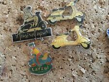 3 pins pin vespa scooter Badge