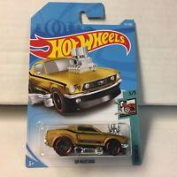 '68 Mustang #157* GOLD * 2018 Hot Wheels Inter Case G * HD16