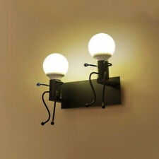 Retro Vintage Industrial Kids Style Light Wall Sconce Metal Shade Fixtures Lamp