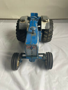 Ford Model 8600 Blue Toy Tractor Used Ertl Diecast No Box Auction