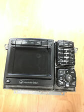 2001 2002 Mercedes-Benz S Class AM FM CD Player Radio with Navigation OEM