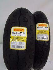 COPPIA GOMME YAMAHA XSR 700 900 PIRELLI PHANTOM SPORTSCOMP 120/70-17 180/55-17