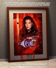 Babylon 5  -   A3 poster Claudia Christian
