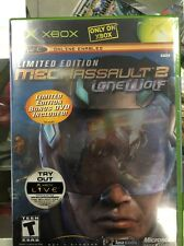 MechAssault 2: Lone Wolf Limited Edition With Bonus DVD Microsoft Xbox, 2004)