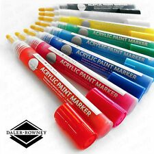 Daler Rowney Simply marcatore di vernice acrilica - 2mm-assortiti confezione da 8