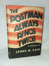 James Cain THE POSTMAN ALWAYS RINGS TWICE (1934) Grosset & Dunlap Madison Square