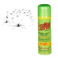 BUSHMAN PLUS AEROSOL 350g Mosquito Mozzie Insect Repellent 20% DEET + SUNSCREEN