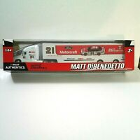 MATT DIBENEDETTO NASCAR Authentics FORD MOTORCRAFT #21 Hauler 1:64 2020