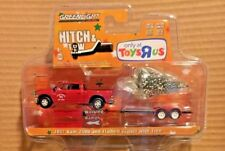 GREENLIGHT HITCH & TOW 2017 RAM 2500 AND FLATBED TRAILER w/ TREE TRU EXCLUSIVE