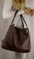 COACH Madison Phoebe 26224 Leather Hobo Handbag Tote Mink
