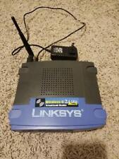 Linksys WRT54G Wireless-G Router 2.4GHz 802.11g 4-Port Cisco with Speed Booster!