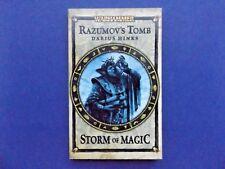   @Oz    WARHAMMER : Razumov's Tomb By Darius Hinks, Storm of Magic (2011), SC