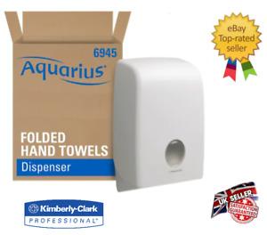 Kimberly Clark Professional 6945 Aquarius Fold folded Hand Towel Dispenser New