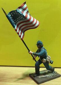 ST PETERSBURG AMERICAN CIVIL WAR FLAG BEARER 54mm