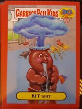 Garbage Pail Kids 2015 Series 2 30th 6b Kit Split RED Push Button NrMt-Mint