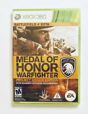 MEDAL OF HONOR WARFIGHTER PROJECT HONOR EDITION...XBOX 360...***SEALED***NEW**