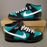 Nike SB Dunk Mid Pro ISO Ken Griffey Jr Skate Shoes Mens SZ 8 Black Fresh Water