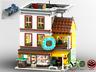 Modular Donut Shop - MOC - PDF Bauanleitung - kompatibel mit LEGO Steine