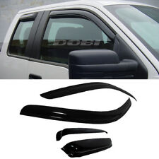 DOBI 4pc Vent Shade Window Visors For 97-03 F150 97-99 F250 Light Duty Super Cab