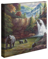 Zac Kinkade Spirit of the Smokies 14 x 14 Gallery Wrapped Canvas