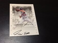 Tim Scott AUTO Montreal Expos 1996 Leaf Signature Series Baseball Extended Card