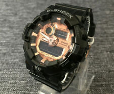 CASIO G SHOCK GA-700MMC-1A LIMITED BLACK & ROSE GOLD ANALOGUE&DIGITAL BRAND NEW