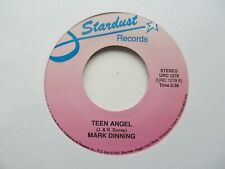 "MARK DINNING Teen Angel/DICKY LEE Patches USA 7"" EX Cond"