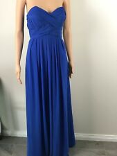 L'Amour Evening Formal Dress Strapless Size 12 BNWT