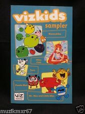 SDCC Comic Con 2011 EXCLUSIVE Vizkids Sampler Zelda, Pokemon, WINX Club, Taro
