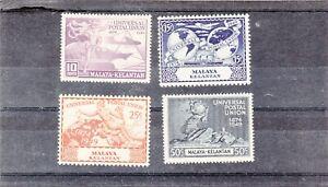 Malaya Stamps. Kelantan.U.P.U. 1949