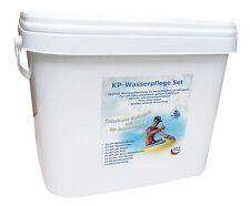 KP-Wasserpflegeset chlorfreie Desinfektion 6% H2O2 Pool Planschbecken bis 15 m3