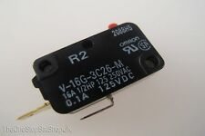 Panasonic Inverter Microwave Door Primary Latch Switch / Microswitch 16A 250V AC