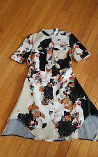 3 : 1 philip lim target dress front zip floral shirt dress
