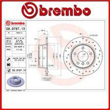 08.9787.1X#5 DISCO FRENO POSTERIORE SPORTIVO BREMBO XTRA BMW 1 (E81) 116 i 90 Kw