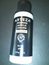 Arteza's silver Pouring Paint