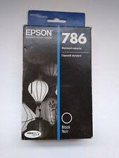 Epson 786 Black Standard Capacity Ink Cartridge Exp 12/2019