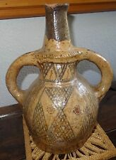 Ancienne céramique jarre poterie Berbère Kabyle terre vernissée