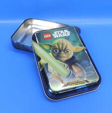 Lego Star Wars Caja de Lata Yoda Cartas Coleccionables Aumentador Presión