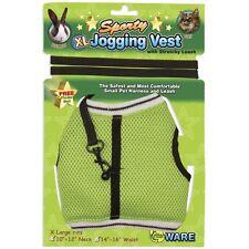Ware Sporty Jogging Vest Mesh Harness & Lead for Small Animal Travel Leash Walk