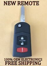 NEW MAZDA CX-7 CX-9 FLIP KEY KEYLESS REMOTE FOB TRANSMITTER BGBX1T478SKE12501