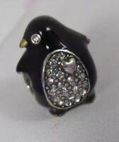 NEW Brighton Charm PENGUIN Charm Spacer Bead Swarovski Crystal