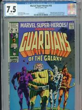 1969 MARVEL SUPER-HEROES 18 1ST APPEARANCE GUARDIANS OF THE GALAXY CGC 7.5 WHITE