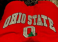 90s Ohio State Buckeyes S T-Shirt Red Made in USA Vintage