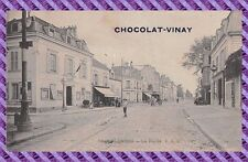 CPA -  Colombes - La Mairie ( Pub chocolat VINAY )