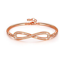 Infinity  Bracelet from Crystals made with Swarovski - PARIS