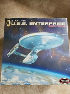 Star Trek USS Enterprise NCC-1701-A Polar Lights 1:350 Model Kit # 4204 NEW OB